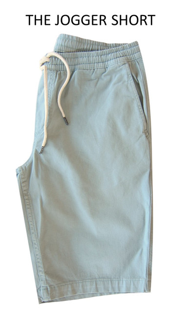 Pure comfort and style to pair with your favorite Tee or Polo!   Cotton twill with a bit of stretch. Easy pull on elastic drawstring waist.  Length, just above the knee.  Machine wash cold, lay flat to dry or tumble dry.  TRUE TO SIZE  M - 32, 33 WAIST  L- 34, 35  XL, 36, 38