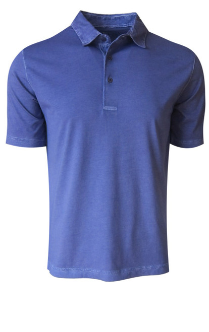 So super soft and feel good is our Limited Edition Garment Dyed Polo. A warm shade of Purple is vivid and rich, looks fabulous with denim, khakis, black or whites. Special treatment and chemical free. Hand or machine was cold, lay flat to dry and go! Slightly tapered. For a comfort fit we recommend sizing up. 100% PIMA COTTON