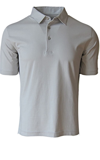 So super soft and feel good is our Limited Edition Garment Dyed Polo. A shade of Cement color is vivid and rich, looks fabulous with denim, black or whites. Special treatment and chemical free. Hand or machine was cold, lay flat to dry and go! Slightly tapered. For a comfort fit we recommend sizing up. 100% PIMA COTTON