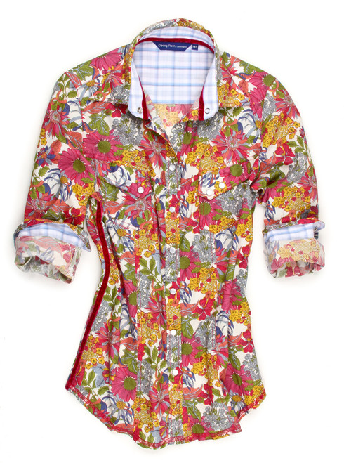 100% Cotton Liberty of London multi print Country Western Style