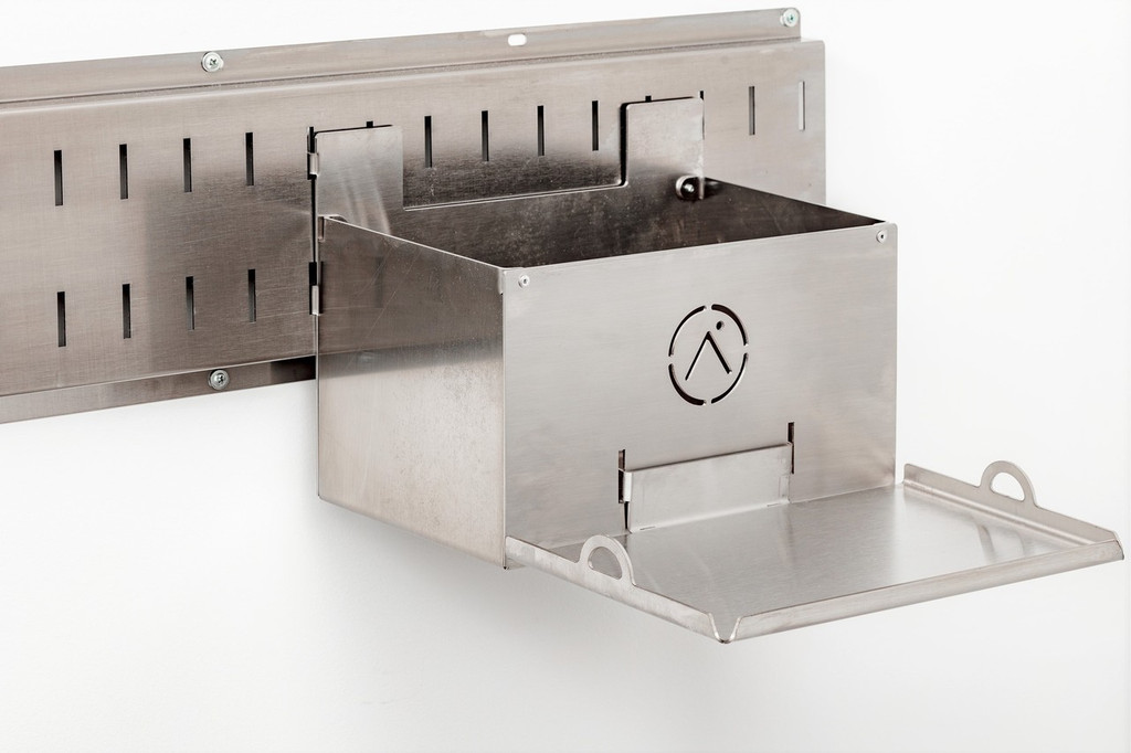The top is a super duper convenient tray.  This is how you'll most likly use it 95% of the time.