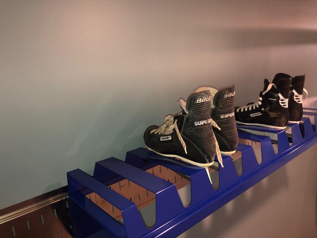 Ice Skate Rack