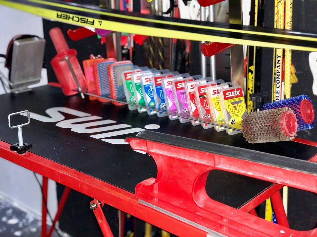 Ski Wax organizer