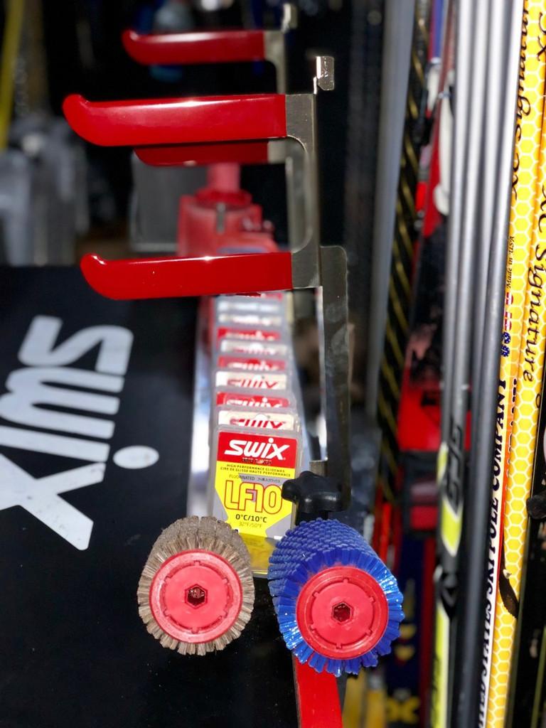 Ski Drying Rack for Wax Station