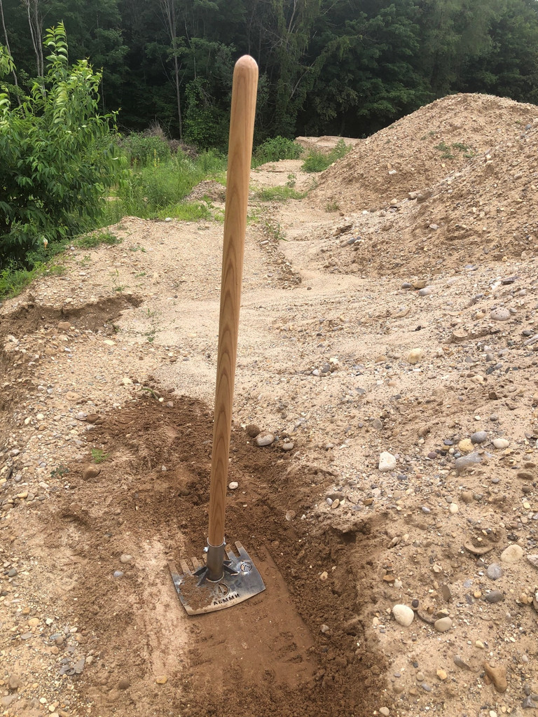 Trail Construction tool for MTB Trail building.  Build awesome trails with this mountain bike trail tool.