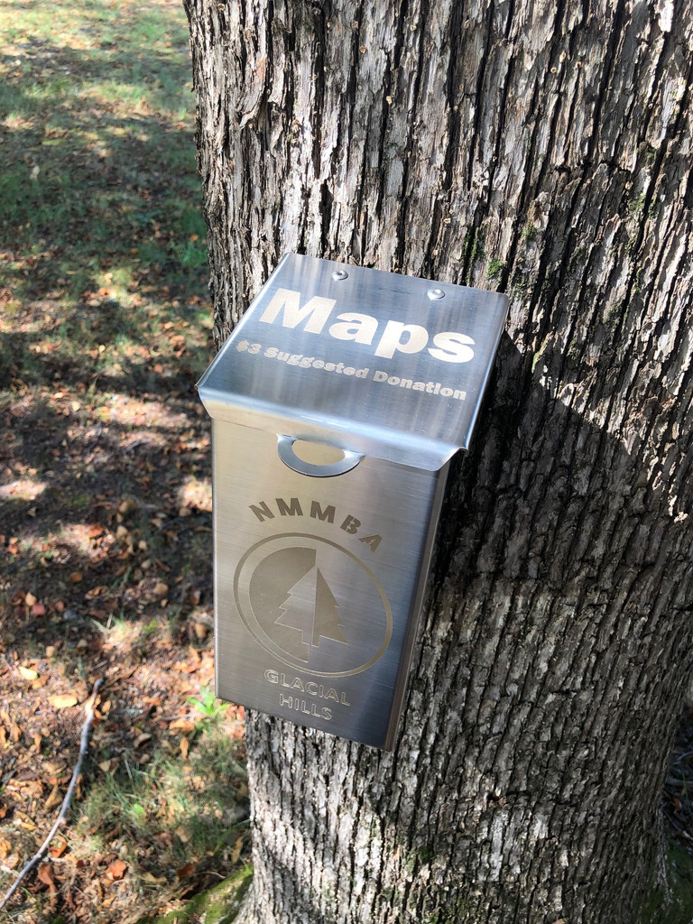 Trail Map Box