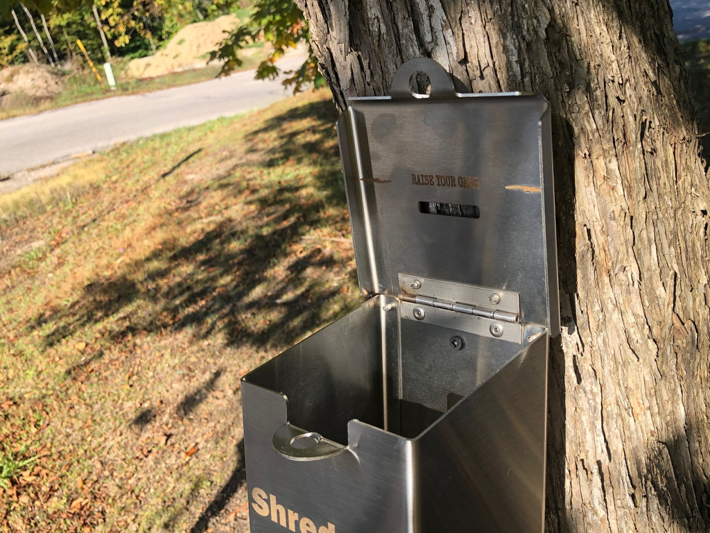 Trail Donation Box