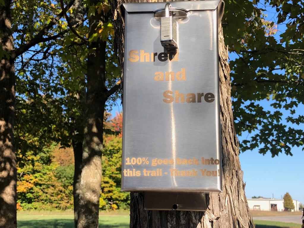 Trail Donation Box