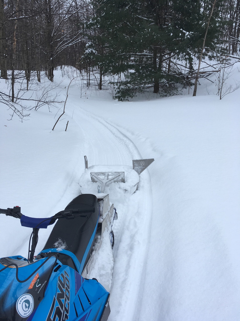 Fat Bike Groomer Drag