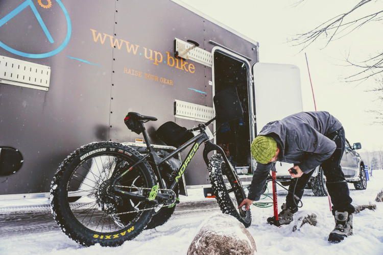 Get Fat And Get Outside: up.bike sponsors the Short's Brewing Fat Bike Series