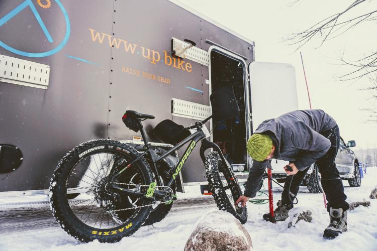 Freeze At A Fat Bike Race? Fat Chance!