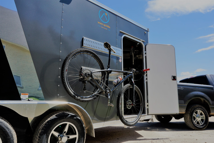 The Solar Powered Team Bicycle Hauler
