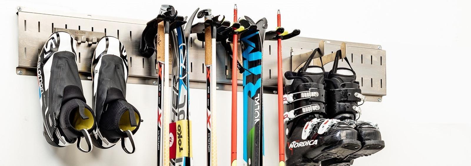 Ski Gear Storage