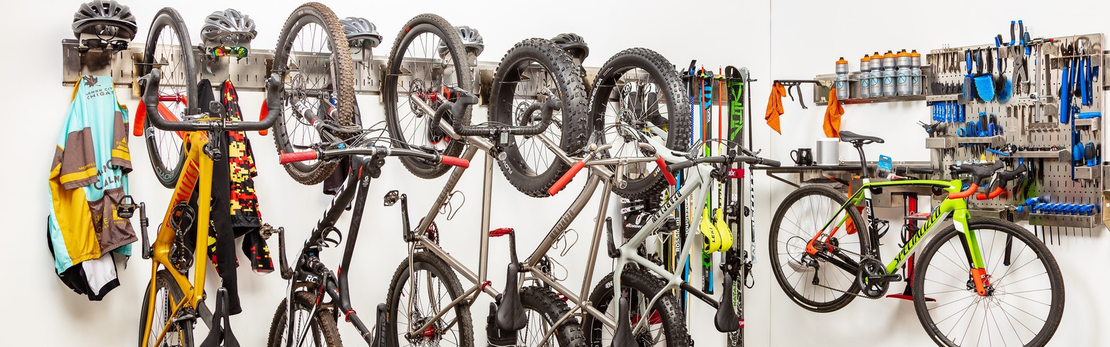 Road/Mountain Bike Storage