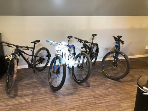 Leaner Wall Mounted Bike Storage
