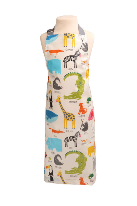 Animal magic PVC childs apron