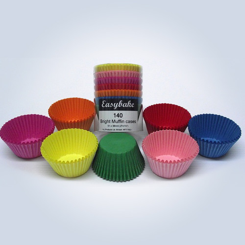Brights muffin cases