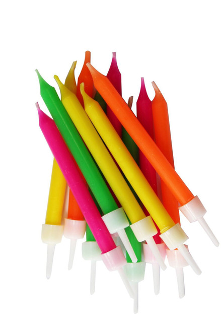 Neon candles