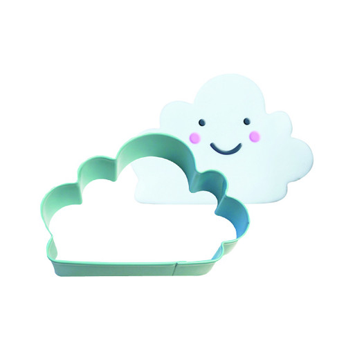 Light blue cloud cutter