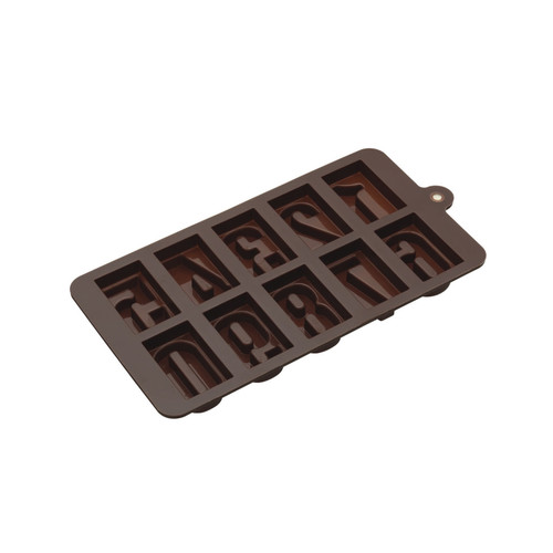 Numbers chocolate moulds