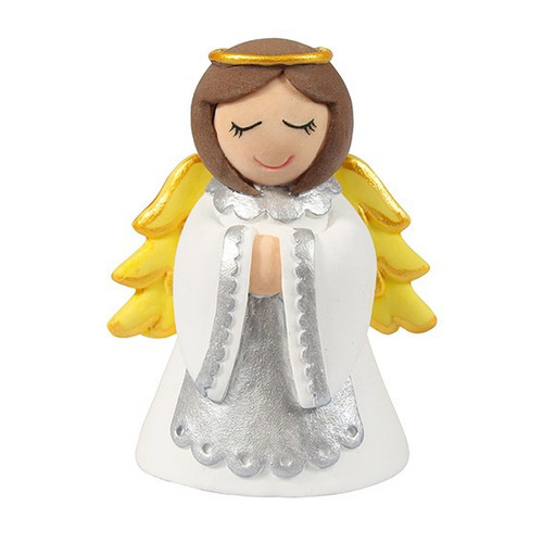 Angel Christmas cake topper