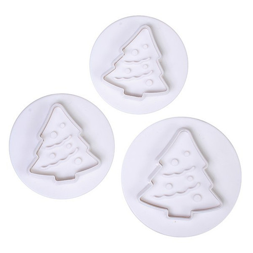 Christmas tree plunger set of 3