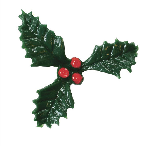 Plastic holly