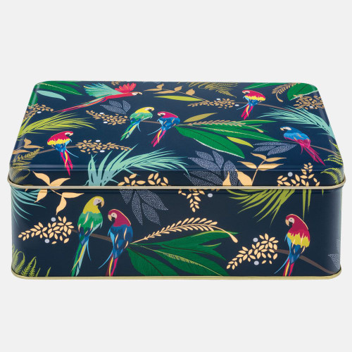 Parrot rectangular cake tin