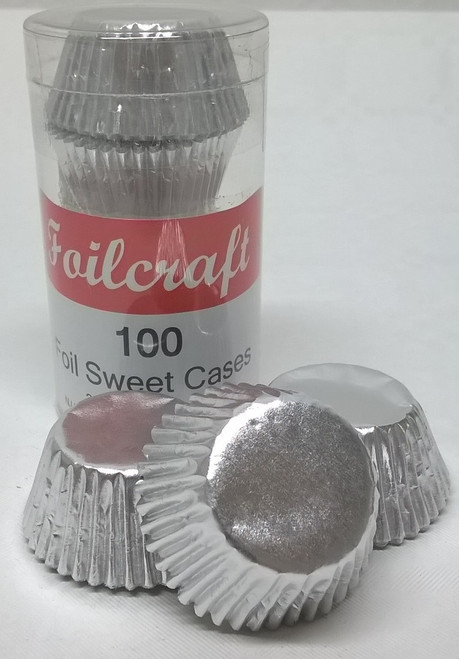 Silver foil sweet cases