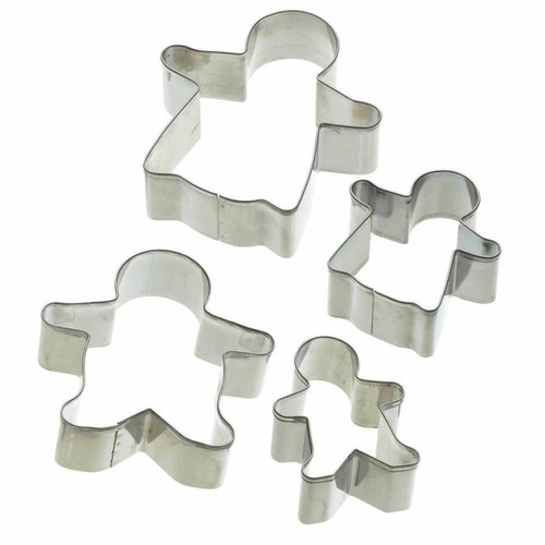 Gingerbread family biscuit cutters