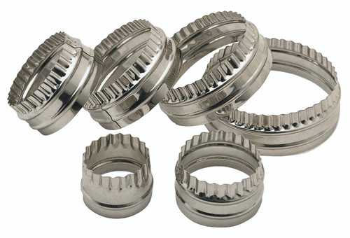 Metal double sided cutters