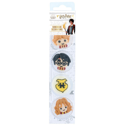 Harry Potter icing cake toppers pk 8