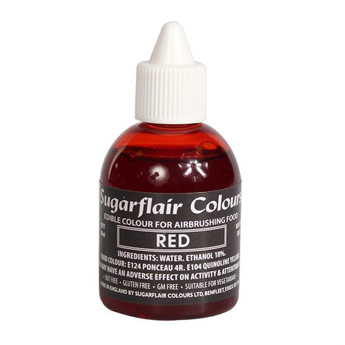 Airbrush colour red