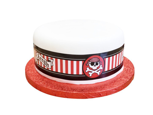 Cake frill. Pirate party