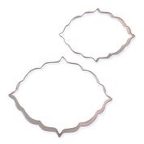 Cookie and cake plaque cutters. style 6.