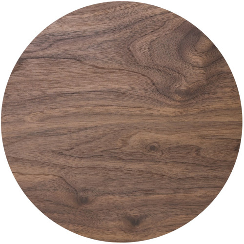 Wood effect round cake board