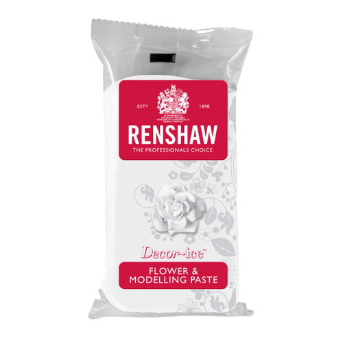 Renshaw flower and modelling paste white