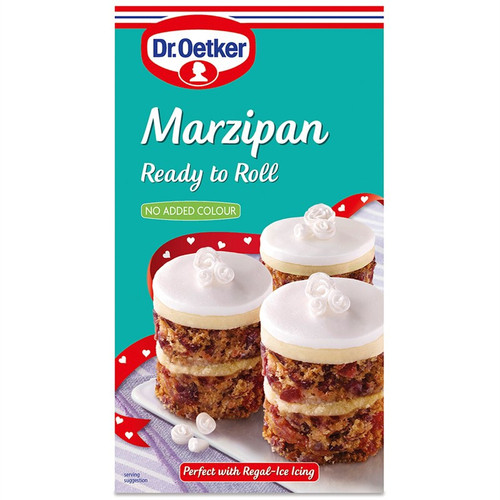 Dr Oetker ready to roll marzipan
