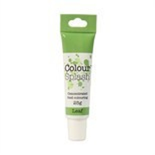 Colour splash concentrated food colour leaf green 25g.