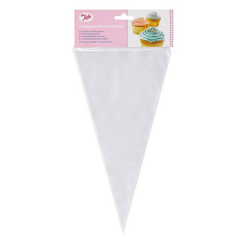 10 disposable icing bags