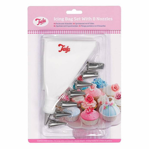 8 piece icing bag set