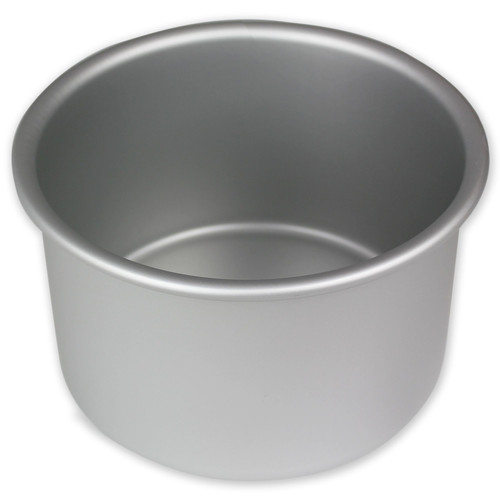 "PME professional round solid bottom cake tin. 3"" deep"