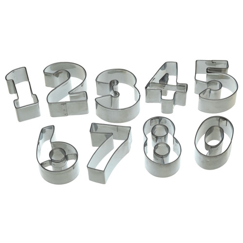 Number Biscuit cutters