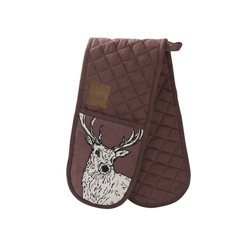 Into the wild stag double oven glove