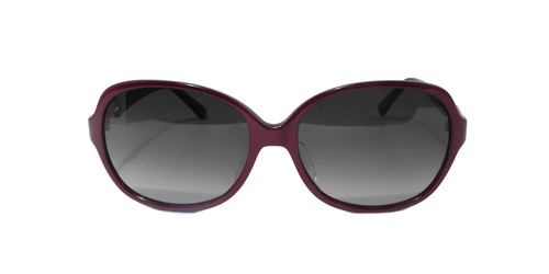C3 Burgundy with Silver Decal in temple w/ Gray Gradient CR39 Lenses