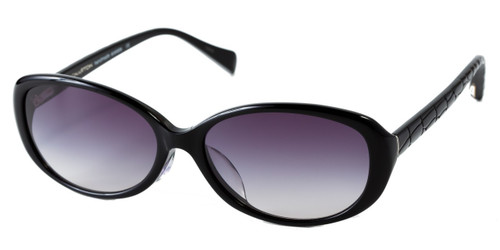 C1 Black w/ Gray Gradient Polarized Lenses