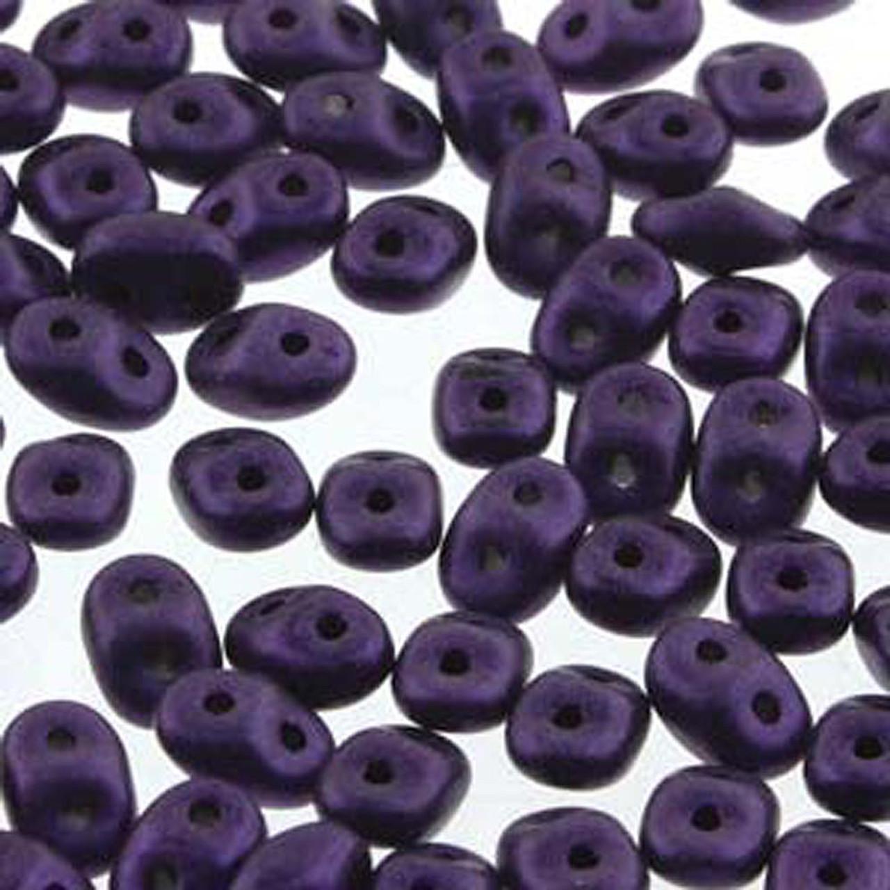 Pastel Light Azore SuperDuo Beads 10g Czech Super duo beads