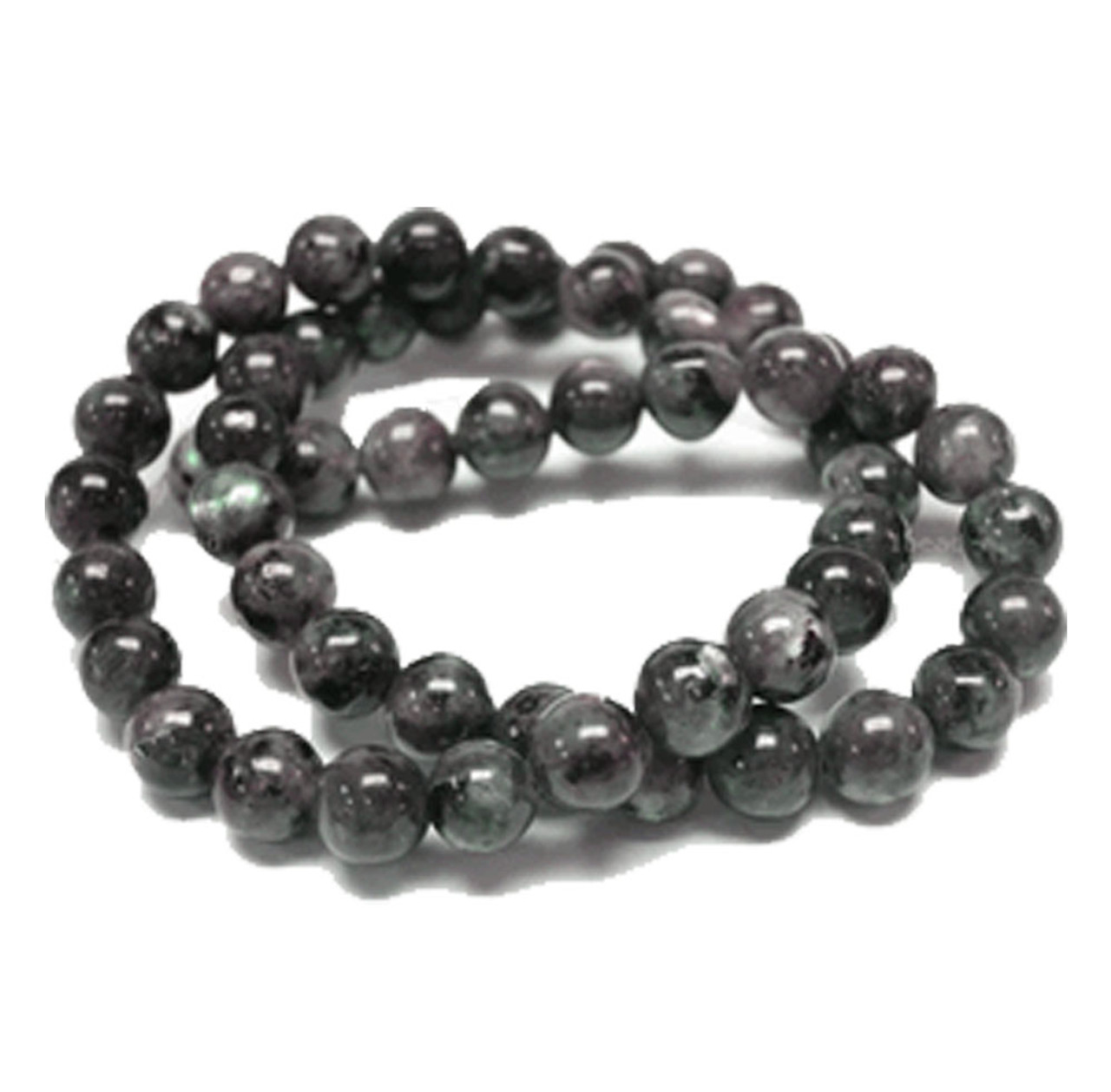 "6x12mm Black White Amazonite Rondelle Beads 8/"""