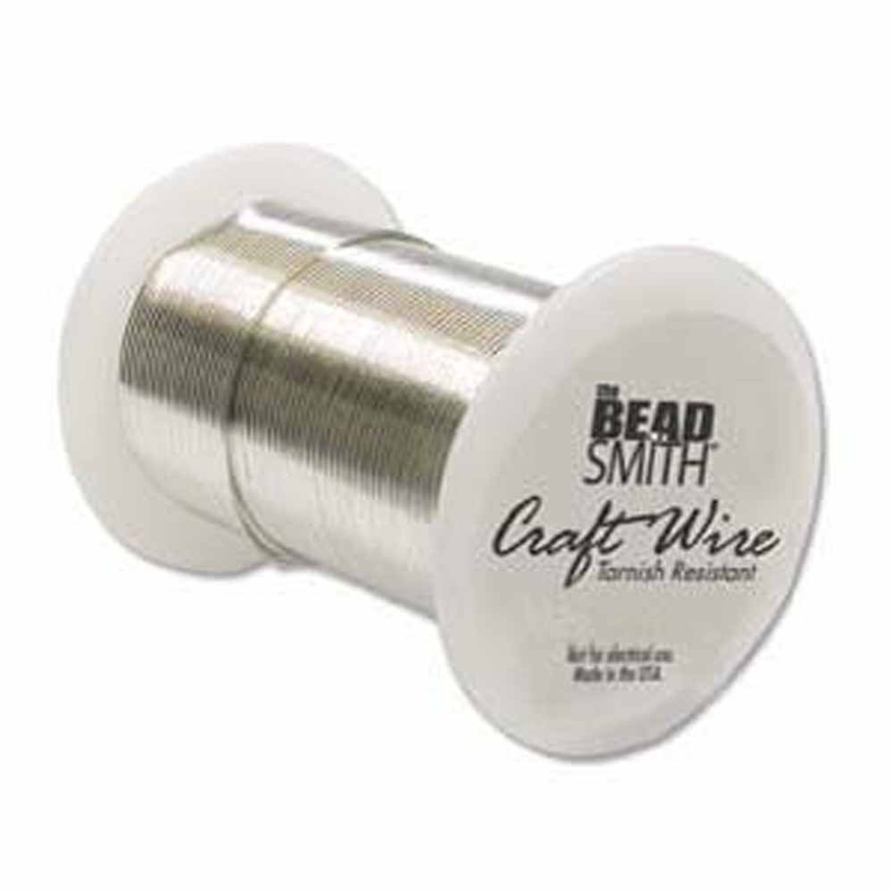 18 Gauge The Bead Smithtm Tarnish Resistant Craft Wire Silver Ntw18s