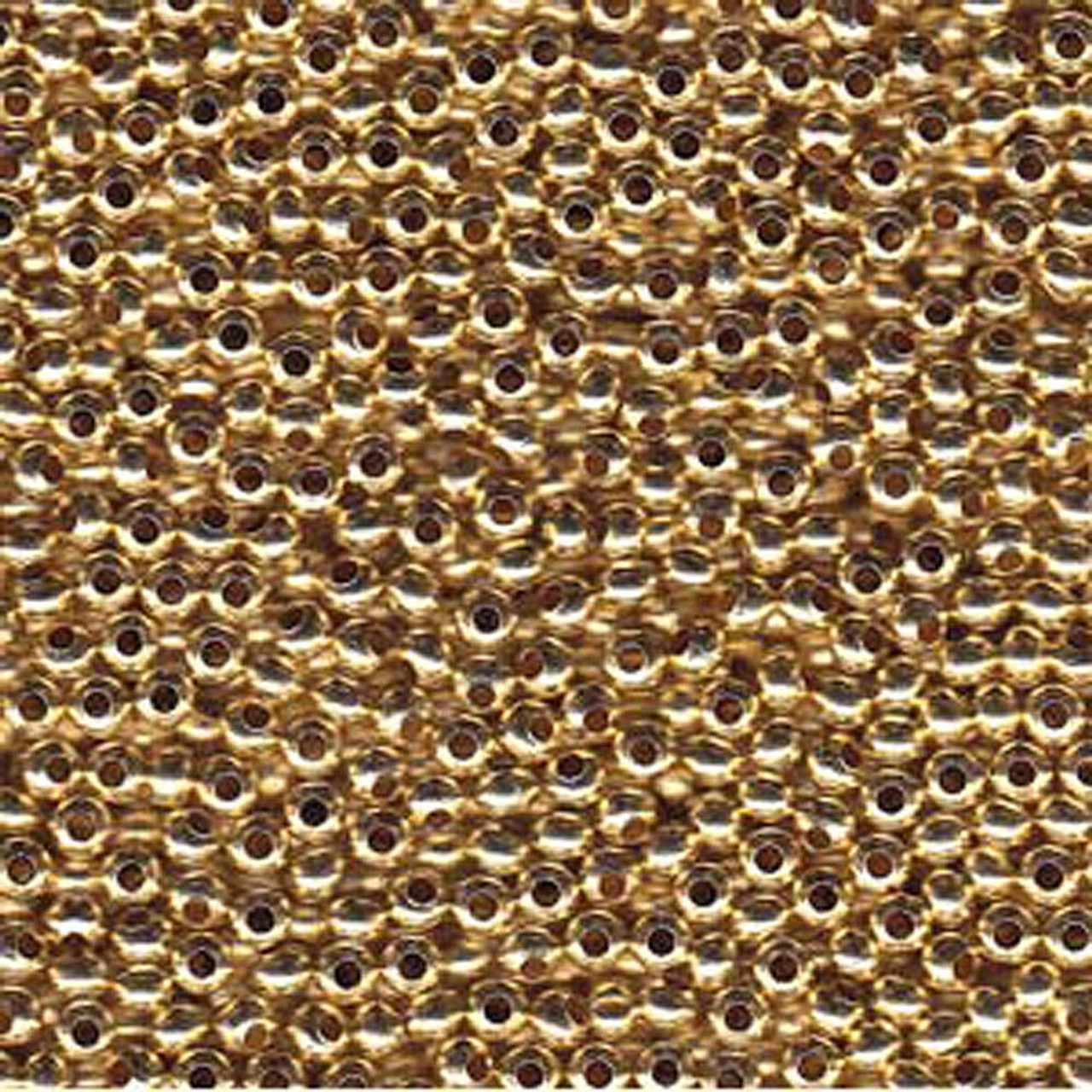 Made in USA 28Grams 6//0 Brass Metal Round Seed Beads